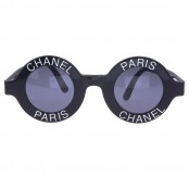 "VINTAGE CHANEL ""CHANEL PARIS"" LOGO FRAME SUNGLASSES – SOLD"