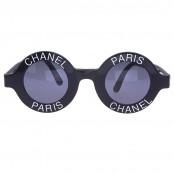 "VINTAGE CHANEL ""CHANEL PARIS"" LOGO FRAME SUNGLASSES"