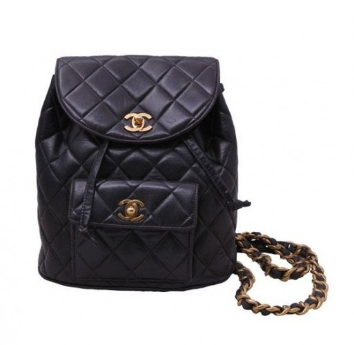 VINTAGE CHANEL QUILTED BACKPACK – WAIT LIST