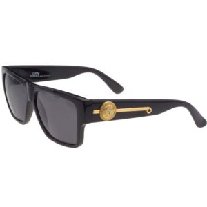 VINTAGE GIANNI VERSACE SUNGLASSES MOD 372 DM BLACK - 1