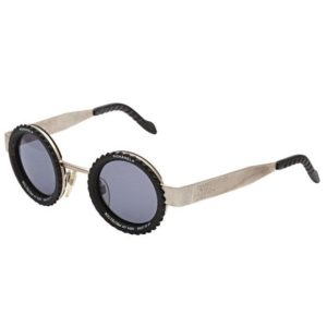 VINTAGE CHANEL RARE CAMERA LENS ROUND SUNGLASSES