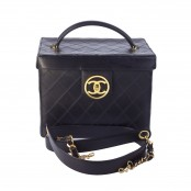 VINTAGE CHANEL QUILTED VANITY CASE BAG – PRE-ORDER