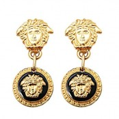 VINTAGE GIANNI VERSACE MEDUSA EARRINGS