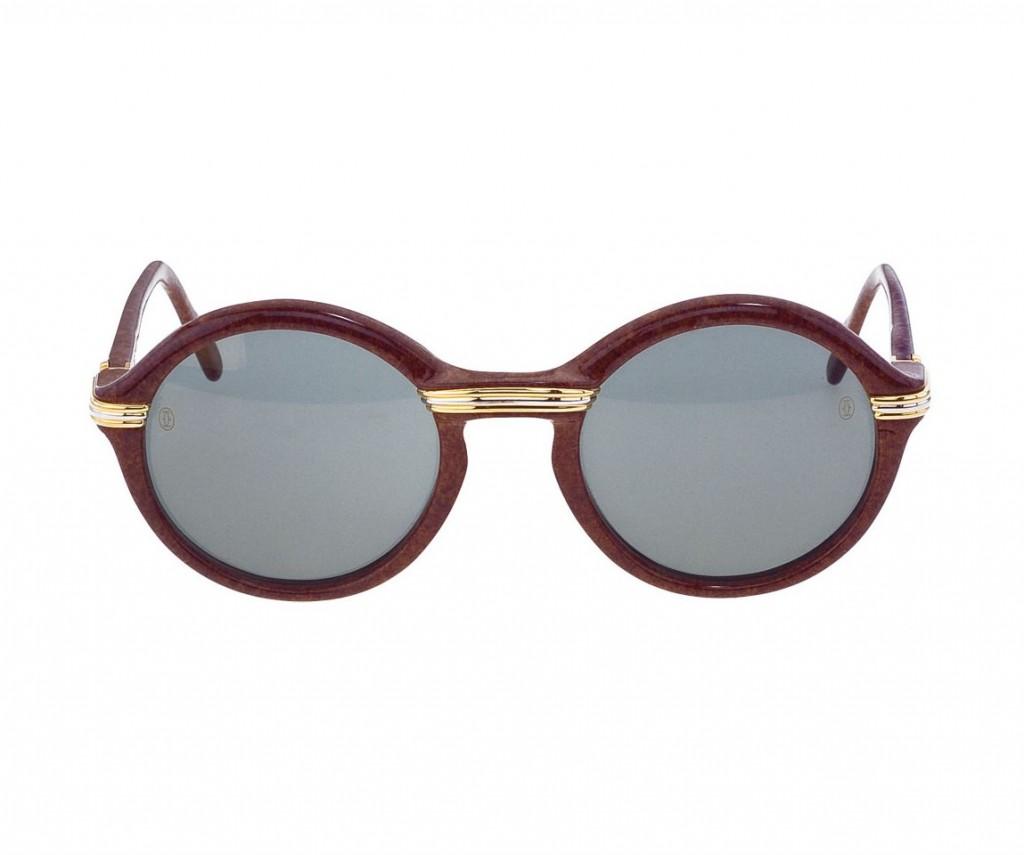 Cartier Half Rim Sunglasses Black Silver Www Tapdance Org