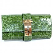 HERMES CROCODILE MEDOR CLUTCH – SOLD