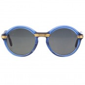 VINTAGE CARTIER CABRIOLET BLUE SUNGLASSES – SOLD