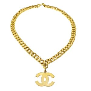 VINTAGE CHANEL LARGE CC NECKLACE/BELT