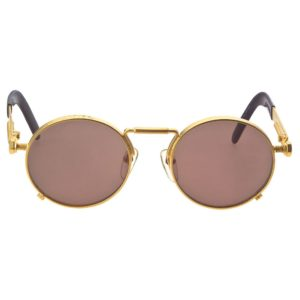 VINTAGE JEAN PAUL GAULTIER 56-8171 GOLD SUNGLASSES