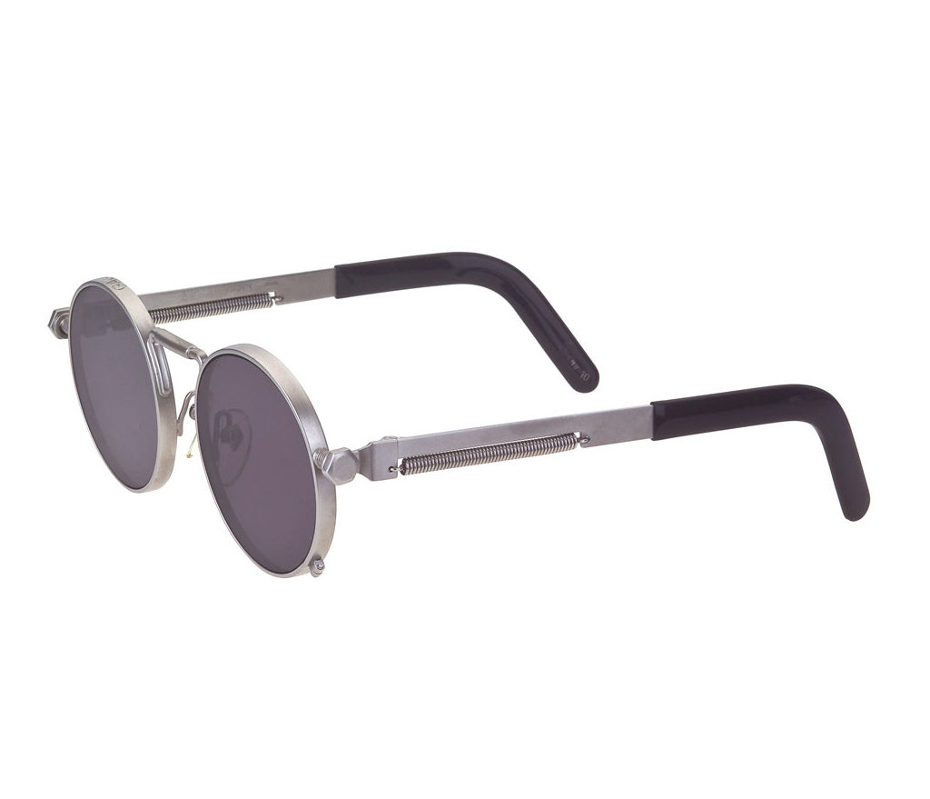 vintage jean paul gaultier 56 8171 silver sunglasses. Black Bedroom Furniture Sets. Home Design Ideas