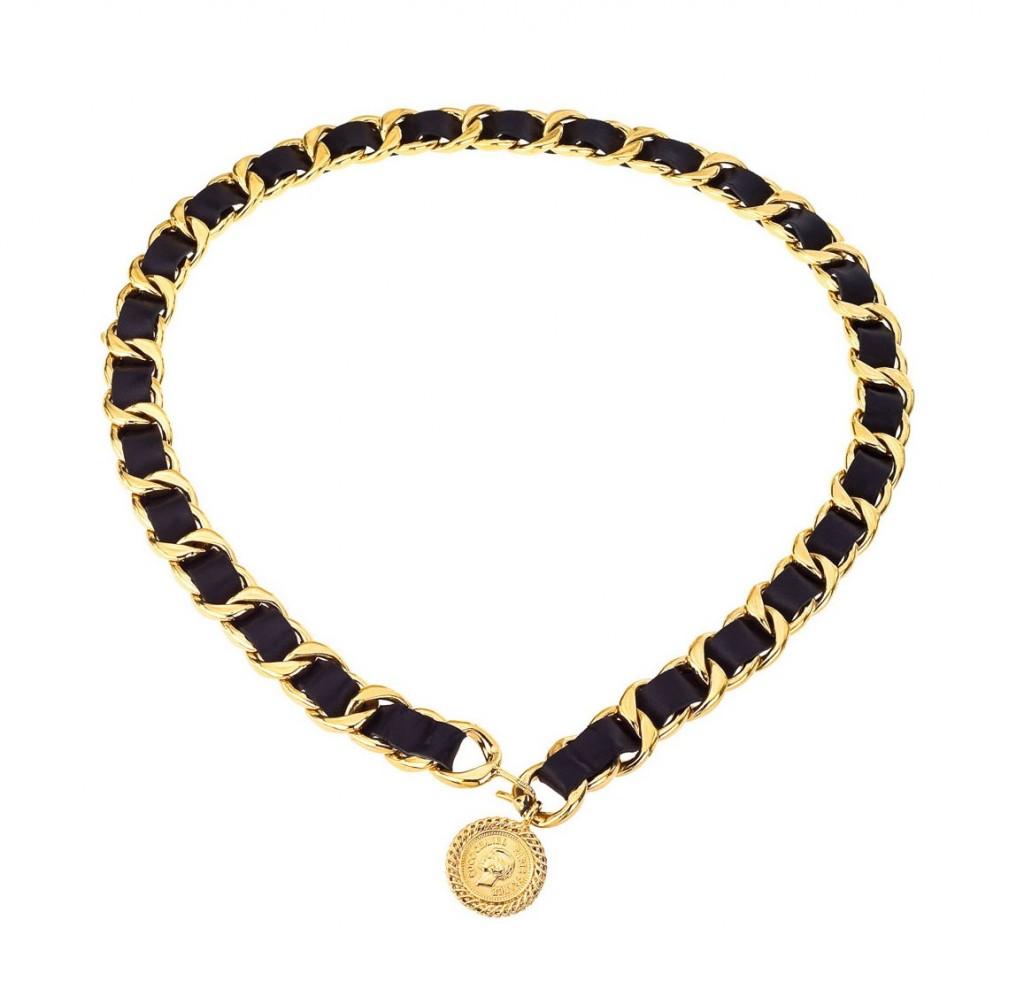 Vintage Black Necklace 106