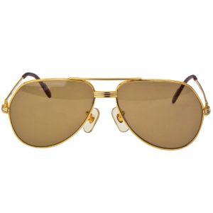 VINTAGE CARTIER VENDOME SUNGLASSES 62 14