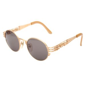 VINTAGE JEAN PAUL GAULTIER 56-6106 GOLD SUNGLASSES