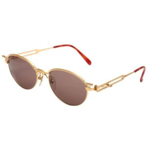 VINTAGE JEAN PAUL GAULTIER SUNGLASSES 56-4172 GOLD