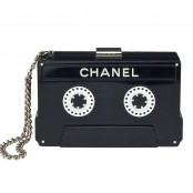 CHANEL CASSETTE TAPE CLUTCH – SOLD