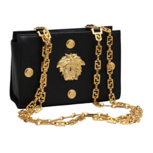 "VINTAGE GIANNI VERSACE COUTURE MEDUSA BAG ""THE WOLF OF WALL STREET"" MEMORABILLIA"
