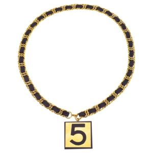 VINTAGE CHANEL NO.5 NECKLACE/BELT
