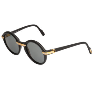VINTAGE BLACK CARTIER CABRIOLET SUNGLASSES