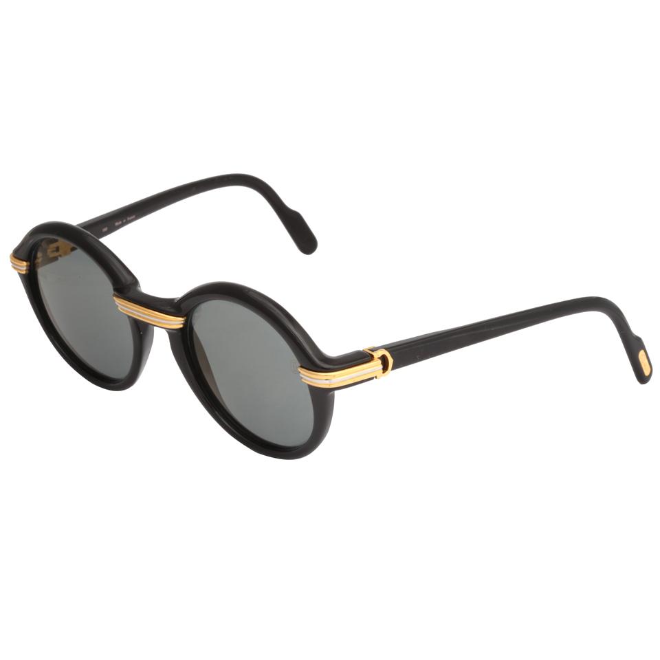 Black Vintage Sunglasses 63