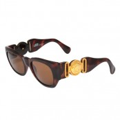 VINTAGE GIANNI VERSACE SUNGLASSES MOD 413/A COL 900 BROWN