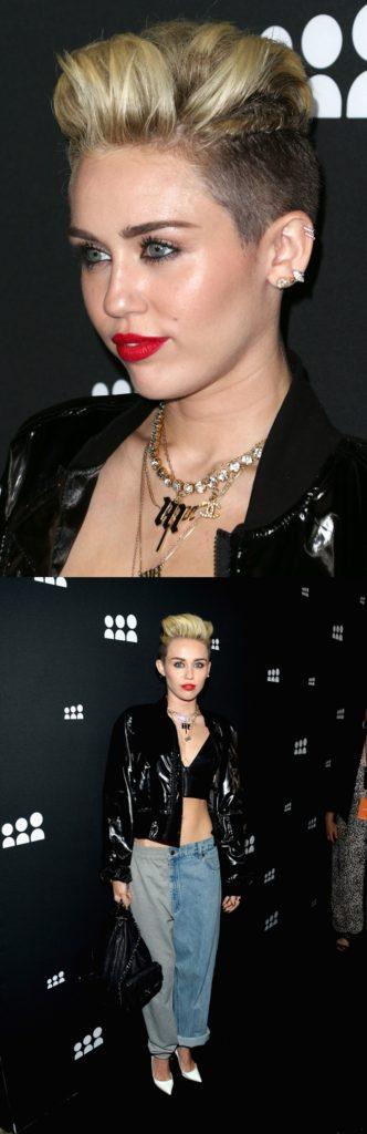 Miley Cyrus Wears Depuis 1924 Vintage Chanel Necklace