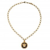 VINTAGE GIANNI VERSACE MEDUSA PENDANT NECKLACE – SOLD