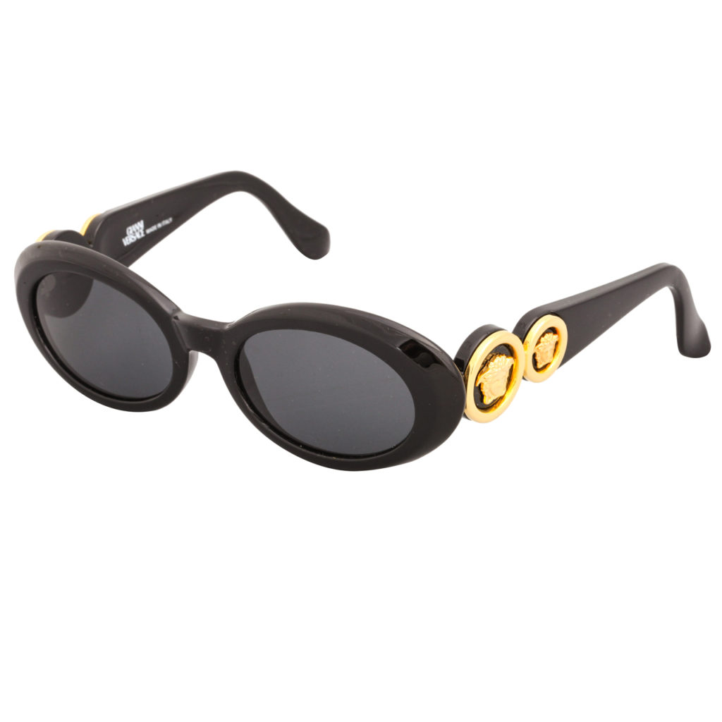 2b730cf05113 Fake Gianni Versace Medusa Sunglasses For Sale. Eyewear Vintage Versace  Sunglasses