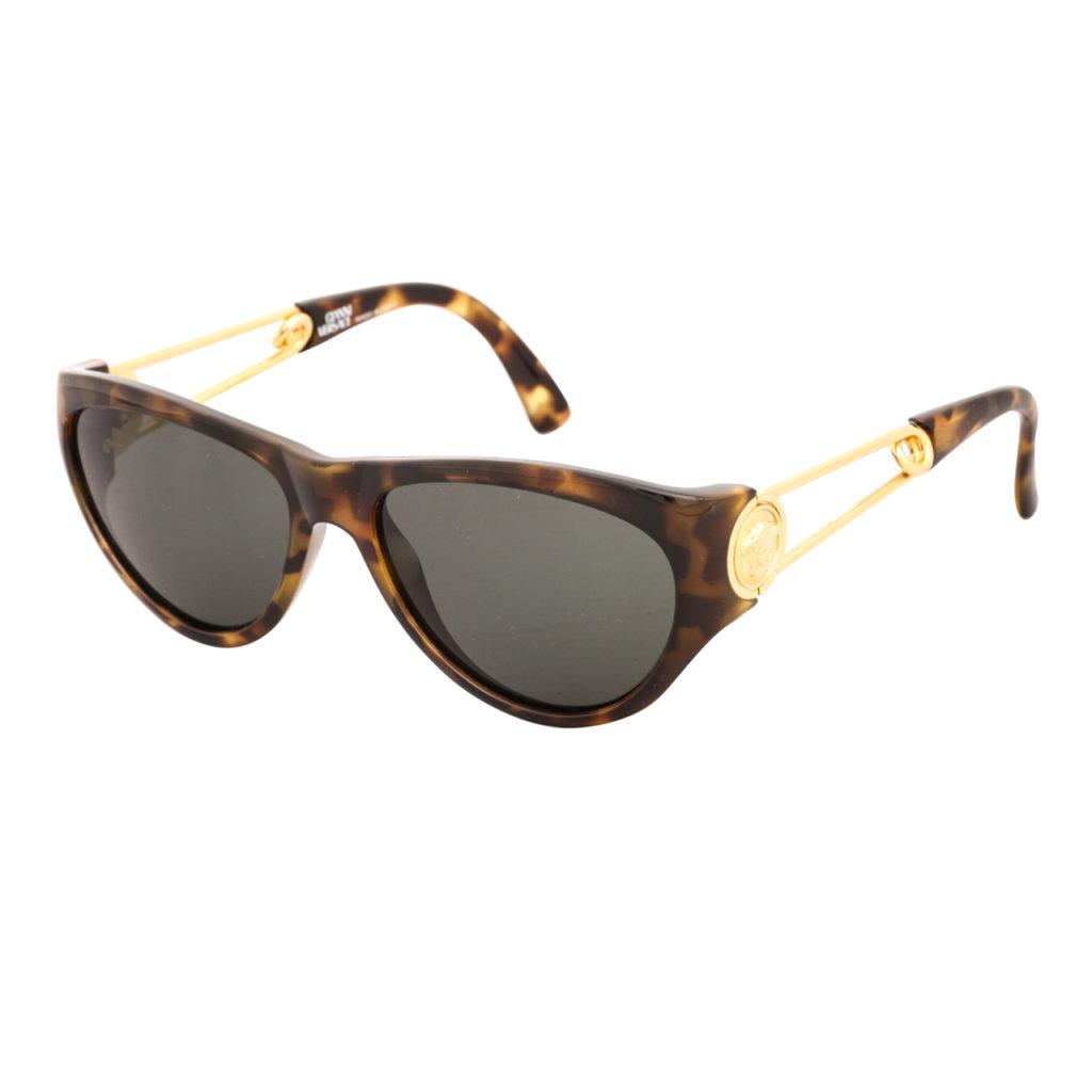 c8714830cb13 Vintage Gianni Versace Sunglasses Mod 424 Col 852 Bk - Bitterroot ...