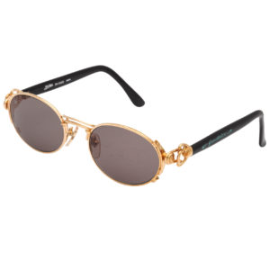 VINTAGE JEAN PAUL GAULTIER GOLD SUNGLASSES 56-6203