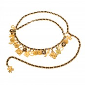 VINTAGE CHANEL ICONIC MOTIF CHARM BELT / NECKLACE – PRE-ORDER