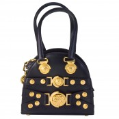 VINTAGE GIANNI VERSACE MINI BAG WITH MEDUSA MOTIFS