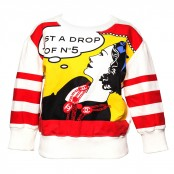 CHANEL POP ART PRINT SWEATER 42