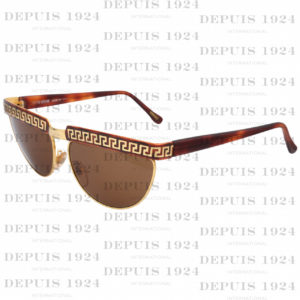 VINTAGE GIANNI VERSACE GREEK KEY SUNGLASSES