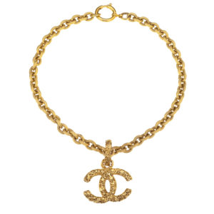VINTAGE CHANEL ICONIC CC NECKLACE