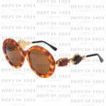 VINTAGE MOSCHINO BY PERSOL BEJEWELED SUNGLASSES