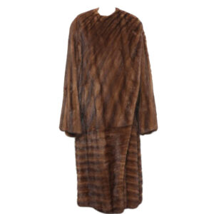 AMAZING VINTAGE GIANNI VERSACE FULL-LENGTH MINK FUR COAT