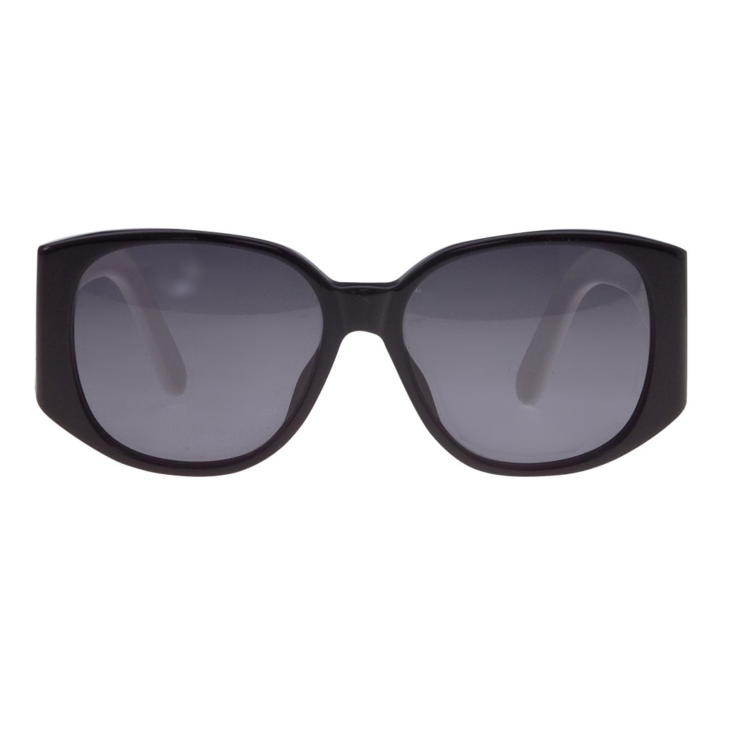 Sunglasses Logo Black And White VINTAGE CHANEL ...