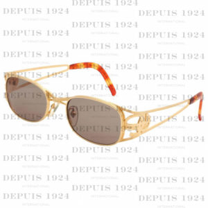 GOLD VINTAGE JEAN PAUL GAULTIER SUNGLASSES 58-5101