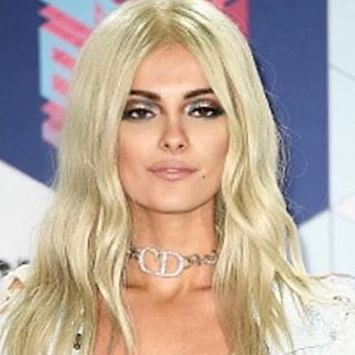 Bebe Rexha wearing Depuis 1924 Christian Dior Archive Choker