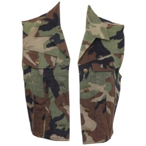 CHRISTIAN DIOR BY JOHN GALLIANO CAMOUFLAGE VEST