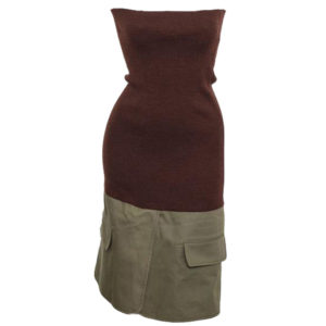 CHRISTIAN DIOR BY JOHN GALLIANO KNIT TUBE DRESS