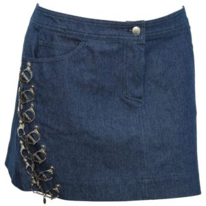 CHRISTIAN DIOR BY JOHN GALLIANO DENIM SKIRT