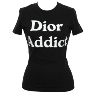 "CHRISTIAN DIOR BY JOHN GALLIANO ""DIOR ADDICT"" TANK TOP T-SHIRT"