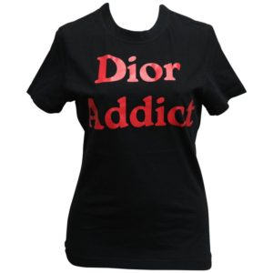 "JOHN GALLIANO FOR CHRISTIAN DIOR ""DIOR ADDICT"" RED TANK TOP T-SHIRT"