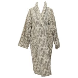 RARE FENDI BATHROBE WITH ICONIC FF LOGOS