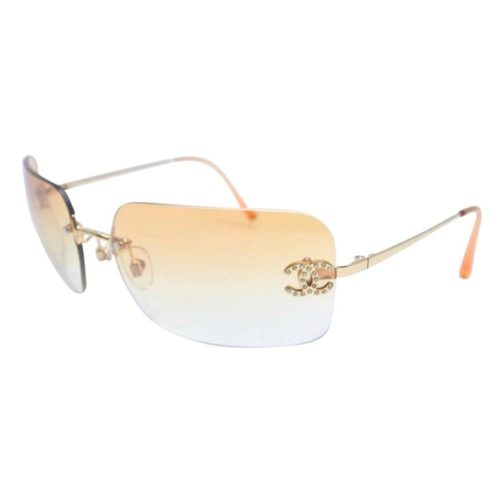CHANEL SUNGLASSES WITH RHINESTONE CCS